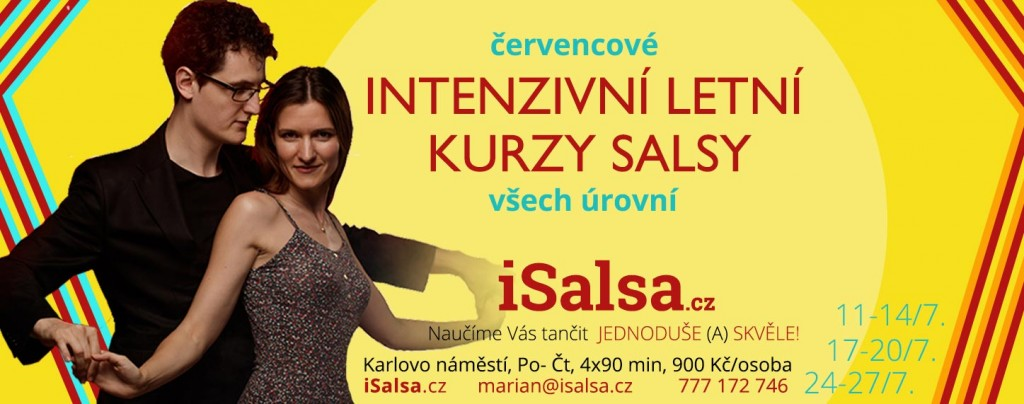 Nabádka intenzivních kurzů isalsa.cz v červenci