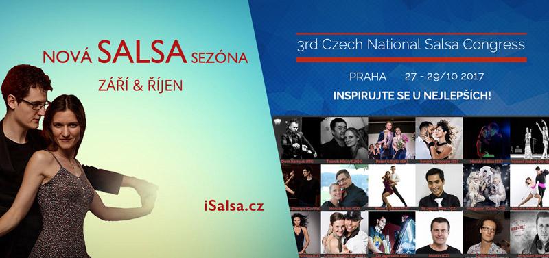 Nabádka salsa kurzů isalsa.cz v nové sezóně 2017-18