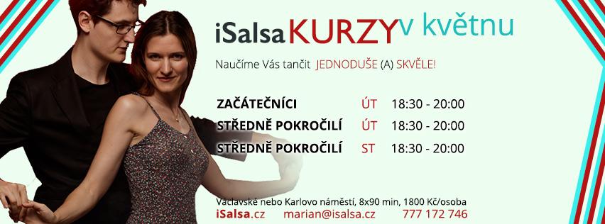 Nabádka kurzů isalsa.cz v květnu