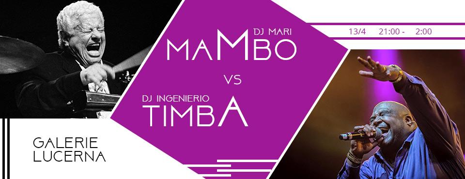 Salsa párty Mambo vs Timba Djs: Mari, Ingeniero